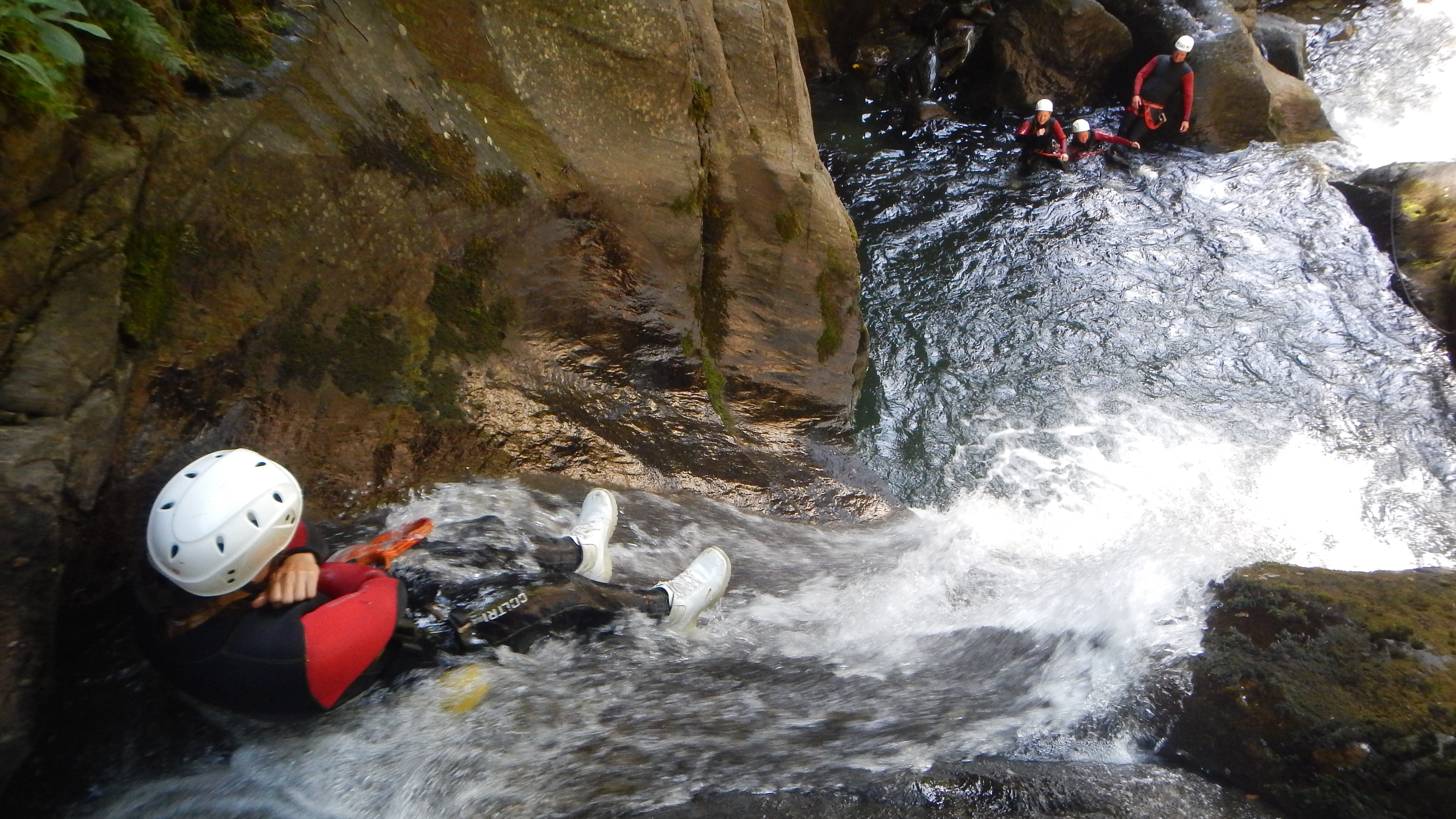Canyoning in Haiming