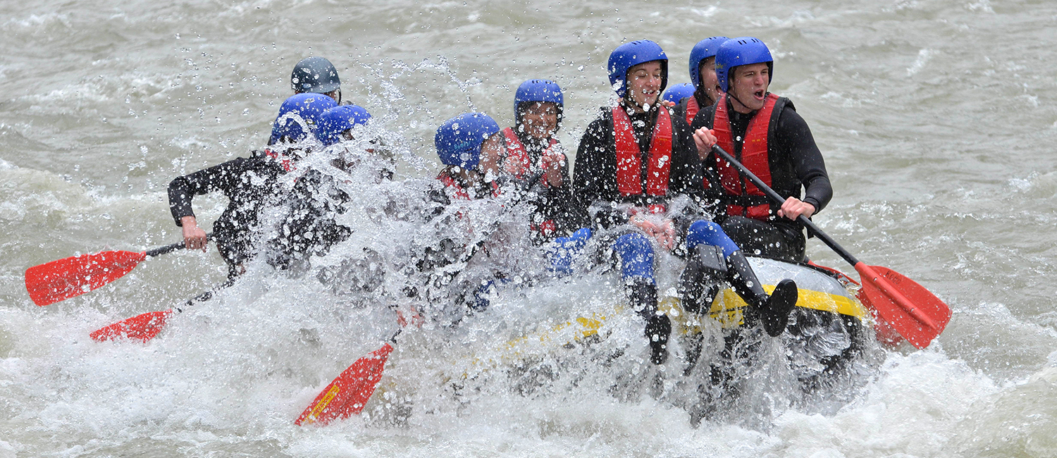 Rafting-Fun in Haiming